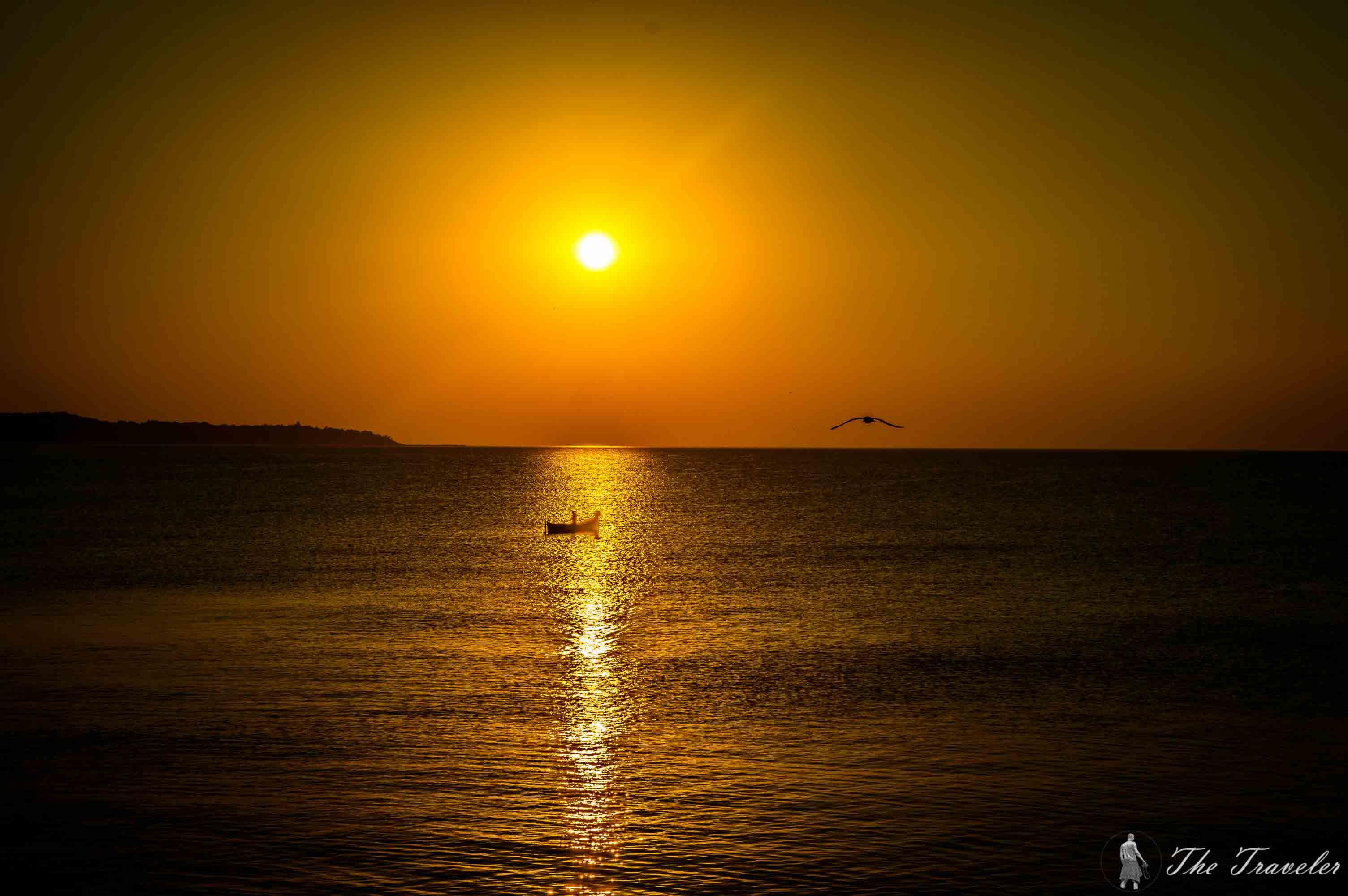Варненски изгрев / The sunrise above Varna