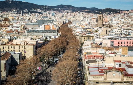 Кварталите на Барселонa от Парк Гюел към Ла Рамбла / The neighborhoods of Barcelona from Park Guell to La Rambla