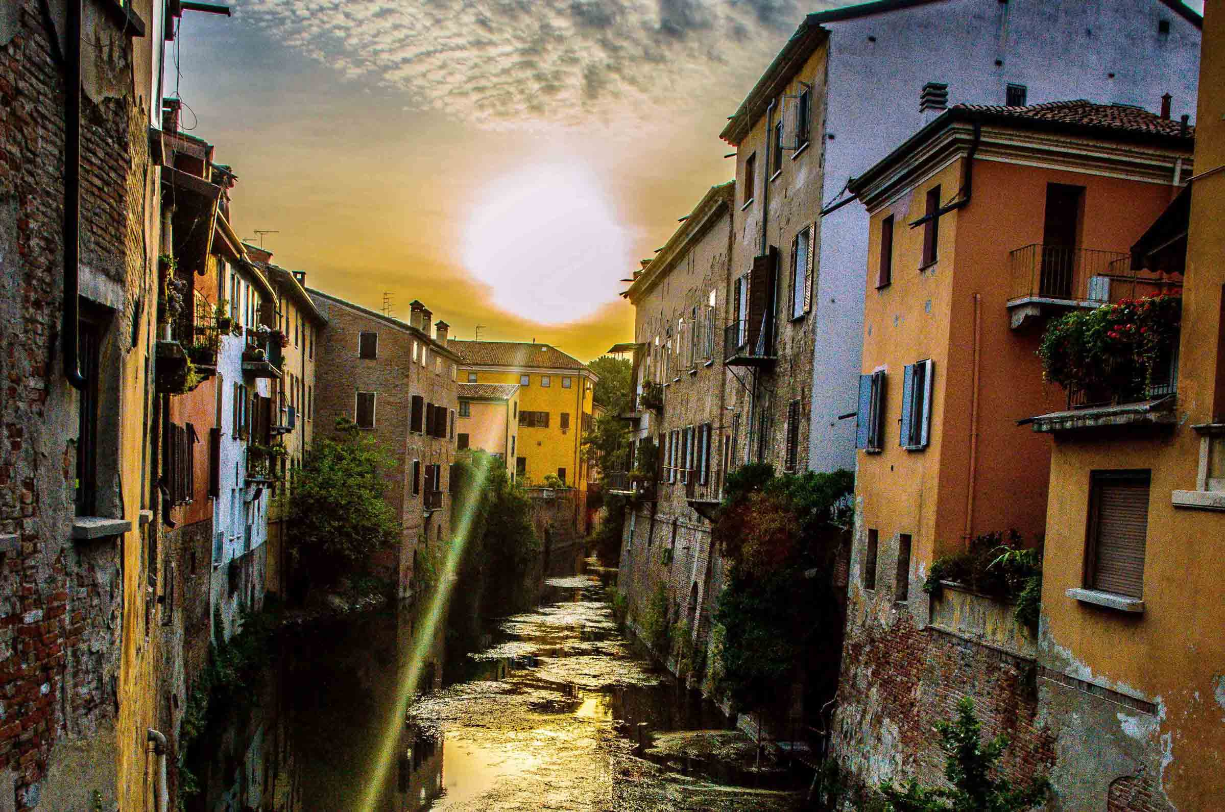 Залез в Мантуа / Sunset in Mantua