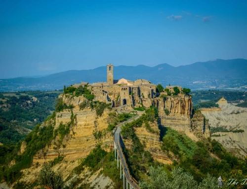 Кацнал на една скала… Чивита ди Баньореджо