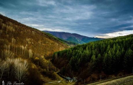язовир Душанци и водопад Варовитец / Dam Dushantsi and waterfall Varovitets