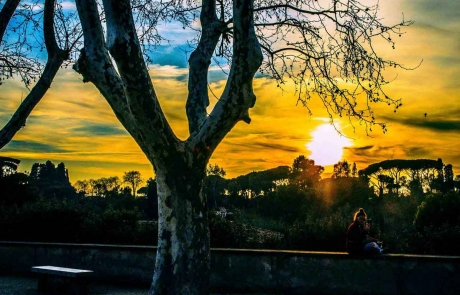 Залез в Рим / Sunset in Rome