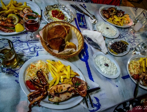 Places to eat on Thassos