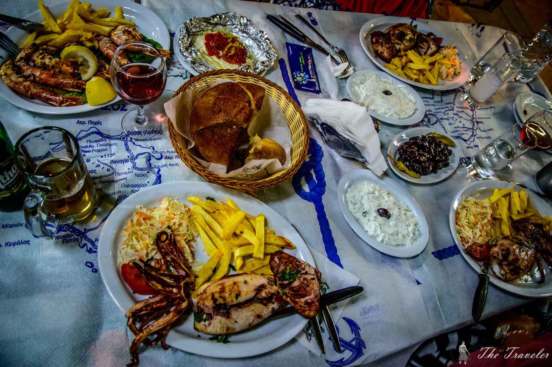 Хапване на Тасос / Eat on Thassos